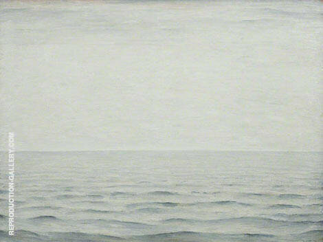 The Sea 1963 By L-S-Lowry Replica Paintings on Canvas - Reproduction Gallery