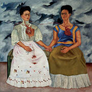 The Two Fridas 1939 By Frida Kahlo