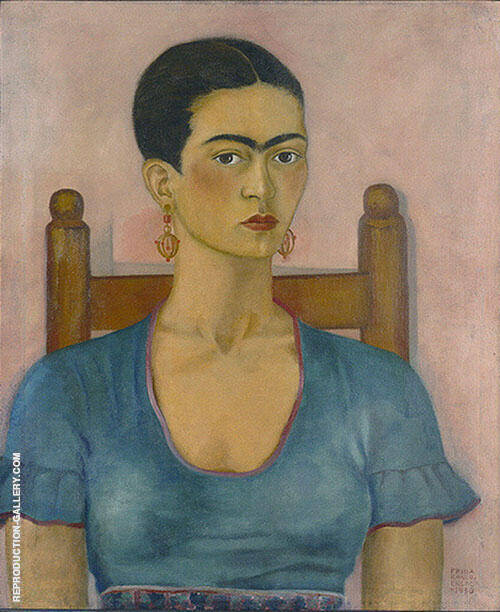 Frida Kahlo Self Portrait 1930 By Frida Kahlo
