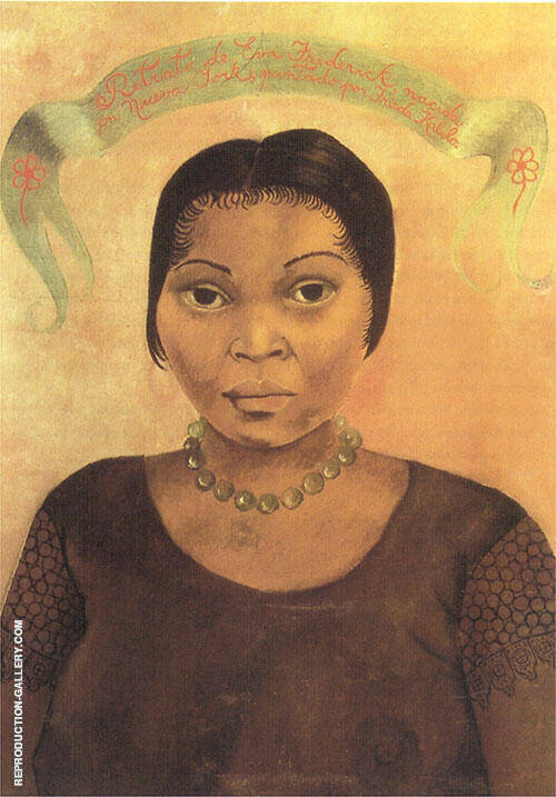 Portrait of Eva Frederick By Frida Kahlo