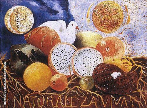 Living Nature 1952 By Frida Kahlo