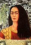 Self Portrait with Hair Loose 1947 By Frida Kahlo