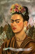 Self Portrait Dedicated to Dr Eloesser 1940 By Frida Kahlo