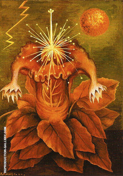 Flower of Life 1943 Painting By Frida Kahlo - Reproduction Gallery