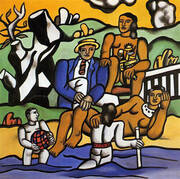 The Country Outing 1954 By Fernand Leger