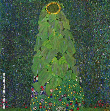 Sunflower 1906 Painting By Gustav Klimt - Reproduction Gallery