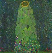 Sunflower 1906 By Gustav Klimt
