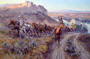 The Jerk Line By Charles M Russell