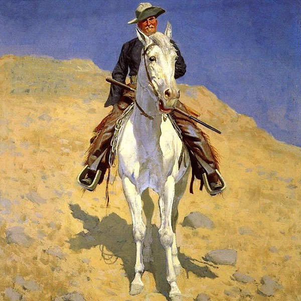 Oil Painting Reproductions of Frederic Remington