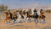A Dash For Timber By Frederic Remington