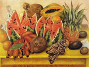 The Bride Frightened at Seeing Life Opened By Frida Kahlo