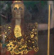 Pallas Athene 1898 By Gustav Klimt