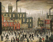 Our Town By L-S-Lowry