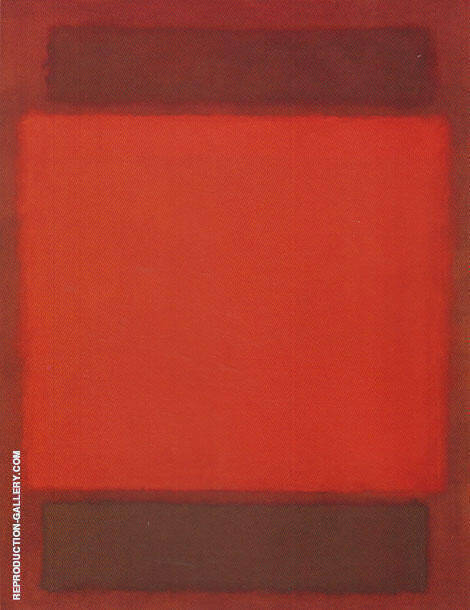 No 202 Orange and Brown 1963 By Mark Rothko