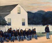 Dawn Before Gettysburg 1934 By Edward Hopper