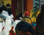 The New York Restaurant 1922 By Edward Hopper