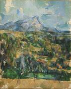 Mont Sainte-Victoire 1904-06 By Paul Cezanne