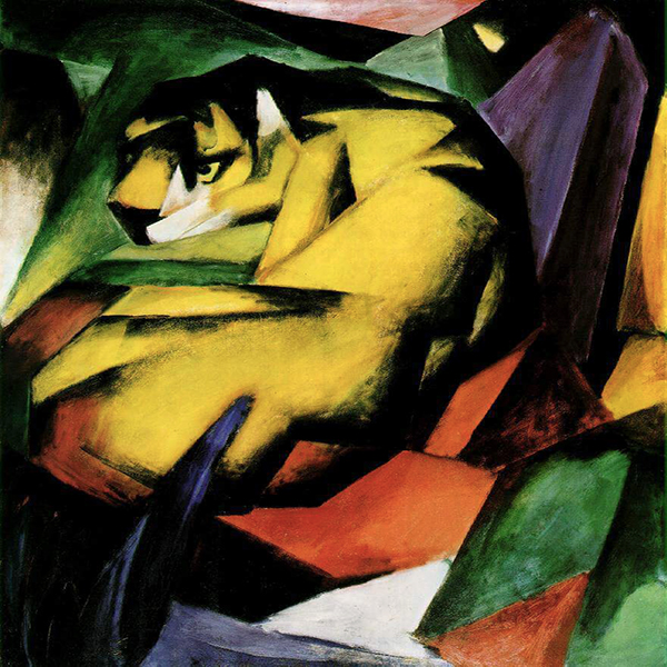 Oil Painting Reproductions of Franz Marc