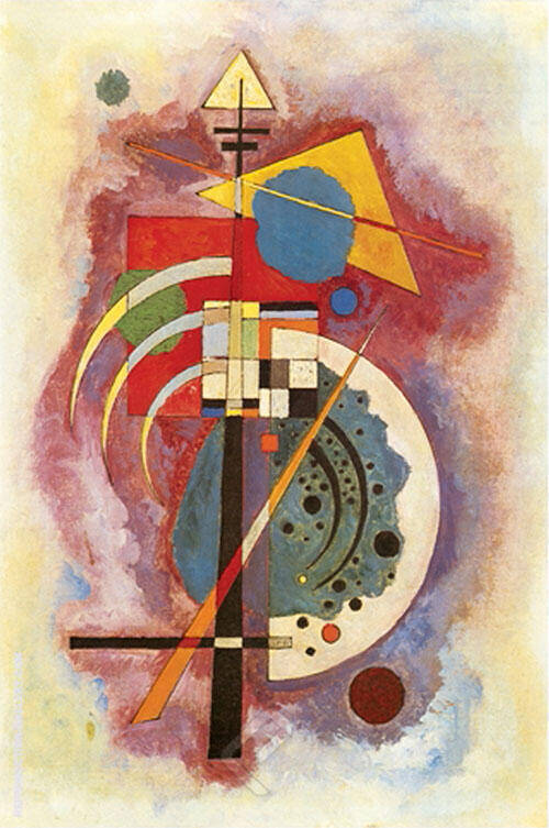 Hommage a Grohmann By Wassily Kandinsky