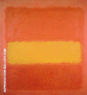 Yellow Band 1956 Painting By Mark Rothko - Reproduction Gallery