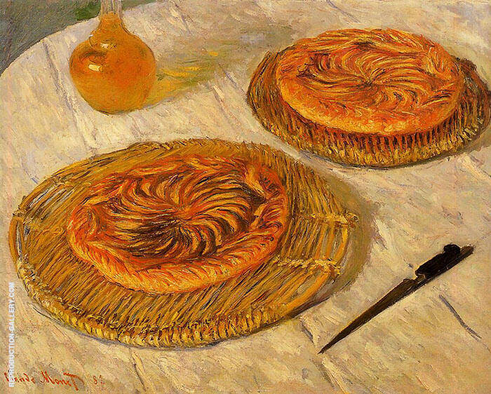 Les Galettes 1882 By Claude Monet