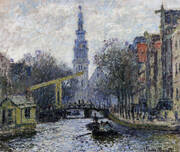 The Southern Church Amsterdam 1874 By Claude Monet