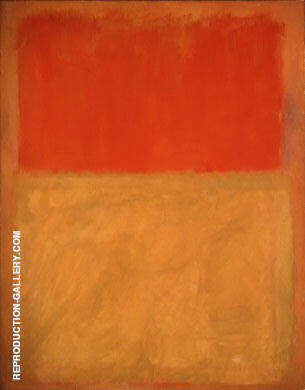 Orange and Tan 1954 By Mark Rothko