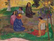 Les Parau Parau (Conversion) 1891 By Paul Gauguin