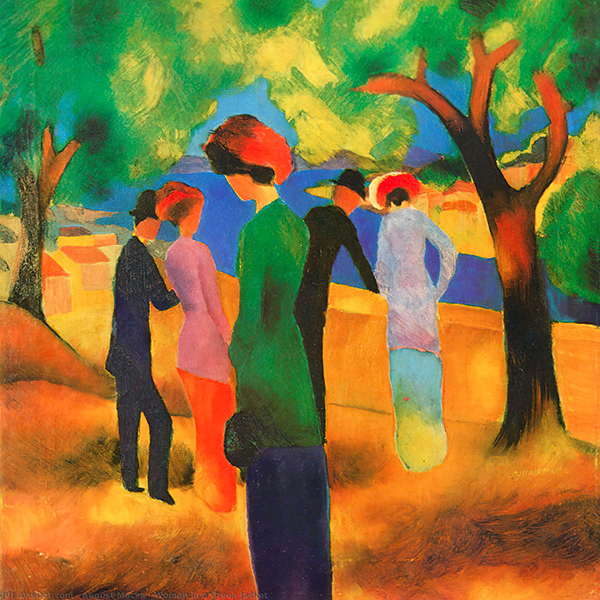 Oil Painting Reproductions of August Macke