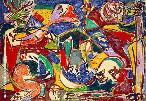 The Key 1946 By Jackson Pollock