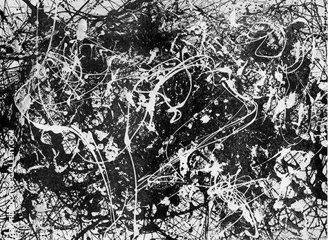No 33 1949 Painting By Jackson Pollock - Reproduction Gallery