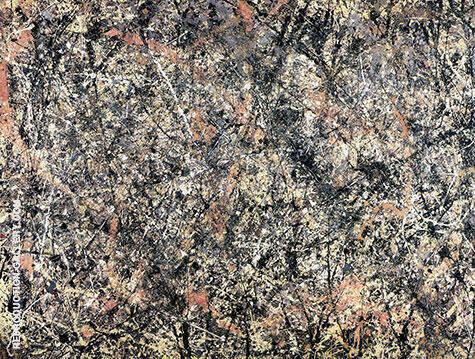Number 1 Lavender Mist By Jackson Pollock