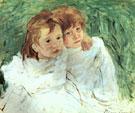 Sisters By Mary Cassatt