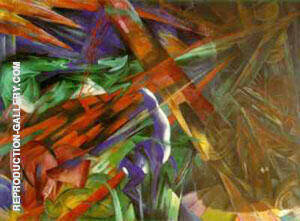Fate of the Animals Painting By Franz Marc - Reproduction Gallery