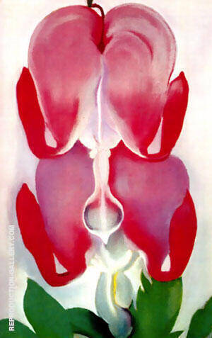 Bleeding Heart 1932 By Georgia O'Keeffe - Oil Paintings & Art Reproductions - Reproduction Gallery