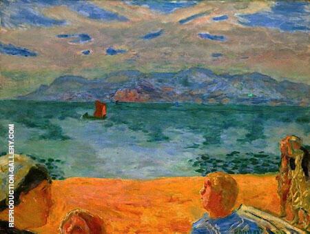 L'esterel 1917 By Pierre Bonnard - Oil Paintings & Art Reproductions - Reproduction Gallery