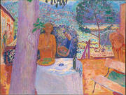 The Terrace at Vernonnet 1939 By Pierre Bonnard