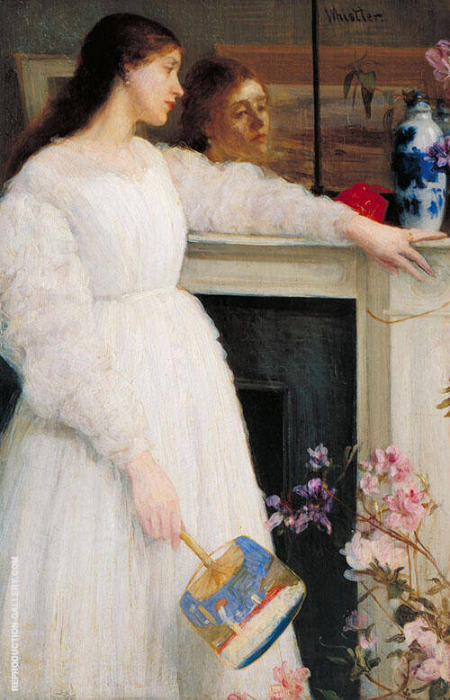 Symphony in White, No. 2 Painting By James McNeill Whistler