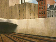 Approaching the City By Edward Hopper