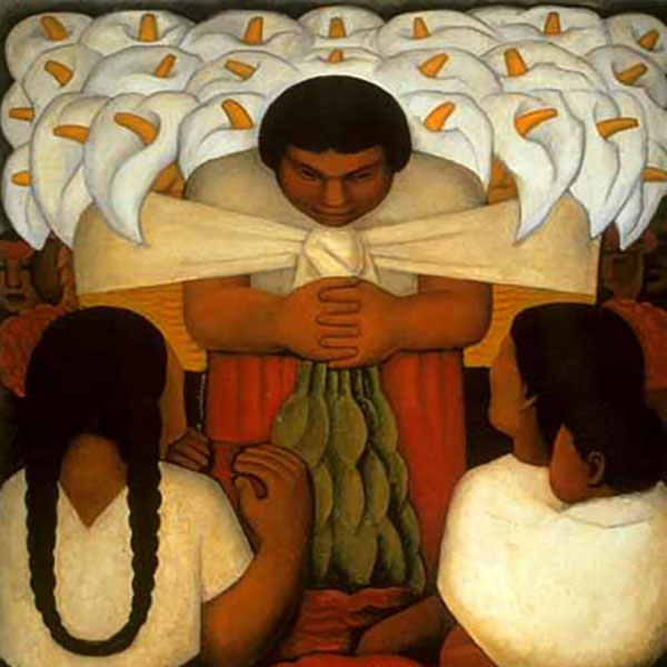 Oil Painting Reproductions of Diego Rivera