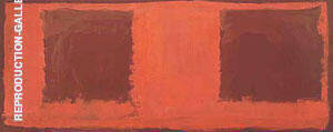 Seagram Mural 2 By Mark Rothko