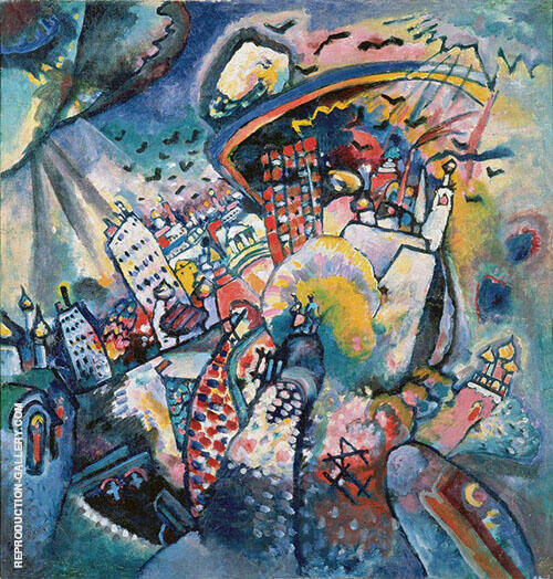 Moscow 1 1916 By Wassily Kandinsky