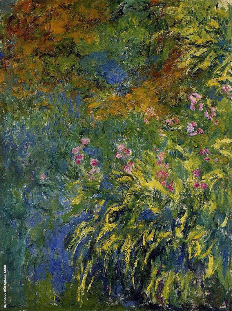 Irises c1917 By Claude Monet