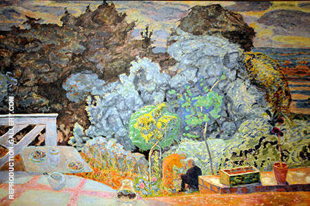 The Terrace 1918 Painting By Pierre Bonnard - Reproduction Gallery