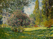 The Parc Monceau By Claude Monet