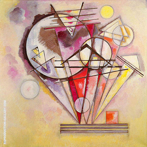 Sur les pointes Painting By Wassily Kandinsky - Reproduction Gallery