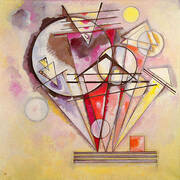 Sur les pointes By Wassily Kandinsky