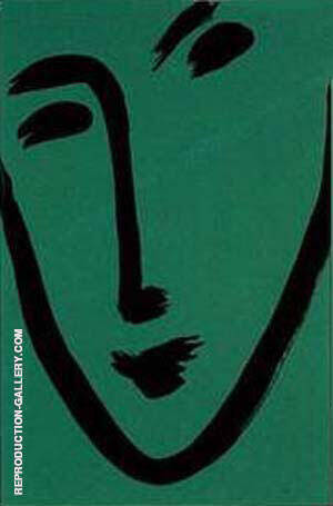 Green Mask 1951 By Henri Matisse