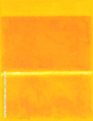 Saffron 1957 By Mark Rothko