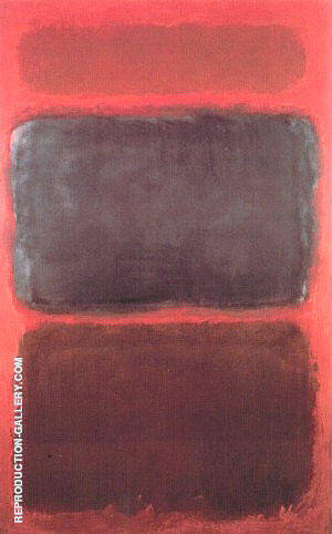 Rothko - No 40 Blue Penumbria By Mark Rothko